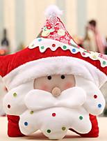 baratos -Enfeites de Natal Natal Tecido Não-Tecelado Quadrada Novidades Decoração de Natal