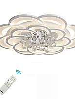 baratos -UMEI™ Geométrica / Novidades Montagem do Fluxo Luz Ambiente - Cristal, Novo Design, 110-120V / 220-240V, Branco Quente / Branco / Dimmable Com Controle Remoto, Fonte de luz LED incluída