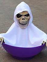 Недорогие -Праздничные украшения Украшения для Хэллоуина Хэллоуин Развлекательный Cool Белый / Черный / Красный 1шт