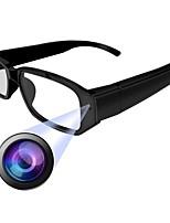 abordables -HQCAM Eyeglasses camera 1 mp Caméra IP Intérieur Soutien 0 GB / CMOS / Sans Fil / Android / iPhone OS / Détection de présence
