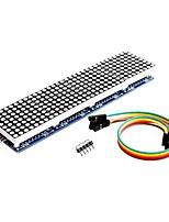 Недорогие -max7219 матричный модуль для микроконтроллера arduino 4 на 1 дисплее с 5-контактной линией