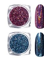 cheap -1 pcs Loose powder Best Quality Creative nail art Manicure Pedicure Daily Stylish