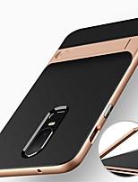 abordables -Coque Pour OnePlus OnePlus 6 Antichoc / Avec Support Coque Armure Dur PC pour OnePlus 6 / One Plus 5 / OnePlus 5T