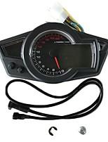 Недорогие -C-0015 Мотоцикл Счётчик пробега / Манометр / Спидометр для Мотоциклы Все года измерительный прибор тахометр