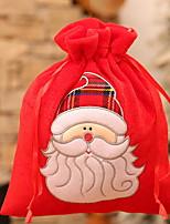 Недорогие -Сумка Праздник Ткань Квадратный Для вечеринок Рождественские украшения
