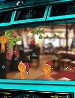 Недорогие -Оконная пленка и наклейки Украшение Современный / Простой Простой / Персонажи ПВХ Cool / Магазин / Кафе