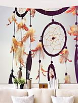 Недорогие -Креатив Декор стены 100% полиэстер Modern Предметы искусства, Стена Гобелены Украшение