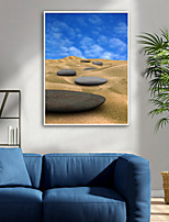 cheap -Framed Canvas / Framed Set - Landscape / Still Life Plastic Illustration