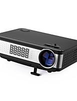 Недорогие -Factory OEM Z720 ЖК экран Проектор для домашних кинотеатров / Мини-проектор Светодиодная лампа Проектор 8000 lm Поддержка 1080P (1920x1080) 32-170 дюймовый Экран / WXGA (1280x800) / ±12°
