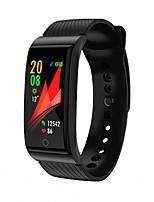 Недорогие -Умный браслет JSBP-F4 для Android iOS Bluetooth Водонепроницаемый Пульсомер Измерение кровяного давления Сенсорный экран Израсходовано калорий