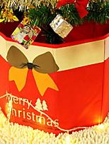 Недорогие -Подарочные мешки Новогодняя тематика Ткань куб Для вечеринок / Оригинальные Рождественские украшения
