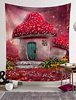 abordables -Nature morte Décoration murale Polyester Moderne Art mural, Tapisseries murales Décoration