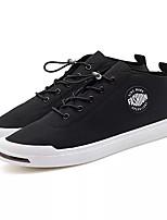 Недорогие -Муж. Комфортная обувь Полиуретан Осень Кеды Черный / Военно-зеленный / Красный