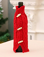 Недорогие -Мешки для вина Новогодняя тематика / Праздник текстильный Прямоугольный Для вечеринок / Оригинальные Рождественские украшения