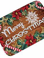 Недорогие -рождественские ковры рождественские фланелеты, квадратный коврик высшего качества