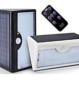 Недорогие -1шт 10 W Солнечный свет стены Дистанционно управляемый / Работает от солнечной энергии / Монитор обнаружения движения Белый 3.2 V Уличное освещение