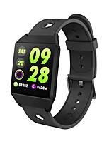 abordables -Bracelet à puce YY-W1 pour Android iOS Bluetooth Sportif Imperméable Moniteur de Fréquence Cardiaque Mesure de la pression sanguine Ecran Tactile Podomètre Rappel d'Appel Moniteur d'Activité Moniteur