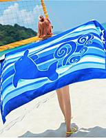 abordables -Qualité supérieure Drap de plage, Animal 100 % Polyester Salle de  Bain 1 pcs