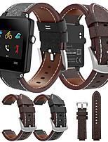 abordables -Bracelet de Montre  pour Vivoactive Garmin Bracelet Sport / Bracelet en Cuir Cuir / Vrai Cuir Sangle de Poignet
