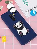 billige -Etui Til Samsung Galaxy S9 Plus / S8 Plus Mønster / GDS Bagcover Panda Blødt TPU for S9 / S9 Plus / S8 Plus