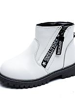 Недорогие -Мальчики / Девочки Обувь Искусственная кожа Весна / Наступила зима Удобная обувь Ботинки для Дети / Для подростков Белый / Черный / Красный
