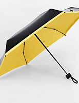 Недорогие -Ткань / Нержавеющая сталь Все Солнечный и дождливой Складные зонты