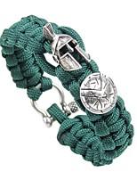 abordables -Homme Tressé Loom Bracelet - Créatif Rétro, Punk Bracelet Or / Argent / Or Rose Pour Plein Air Soirée