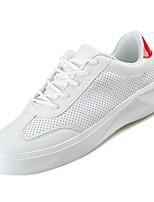 Недорогие -Муж. Комфортная обувь Полиуретан Осень На каждый день Кеды Нескользкий Белый / Красный / Wit En Groen