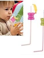 Недорогие -вода бутылка солома дети взрослые портативный разлив доказательство газированная вода бутылка крышка крышка солома соломинки для девочек мальчики