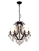 Недорогие -JLYLITE 6-Light Свеча-стиль Люстры и лампы Рассеянное освещение Окрашенные отделки Металл Свеча Стиль 110-120Вольт / 220-240Вольт Лампочки не включены / E12 / E14