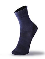 Недорогие -Носки для пешеходного туризма / Носки для бега Муж. Воздухопроницаемость / Пригодно для носки / Мягкость - 3 пары для Отдых и Туризм / На открытом воздухе / Фитнес dragontooth / Спандекс / Эластичная