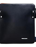 Недорогие -Муж. Мешки PU Портфель Молнии Сплошной цвет Синий