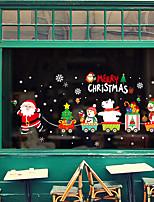 baratos -Filme de Janelas e Adesivos Decoração Animal / Natal Personagem PVC Adesivo de Janela / Adorável / Engraçado