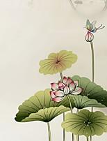 baratos -Filme de Janelas e Adesivos Decoração Artistíco / Retro Floral PVC Novo Design / Legal