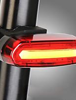 baratos -Luz Traseira Para Bicicleta LED Luzes de Bicicleta Ciclismo Impermeável, Portátil, Fofo Bateria Recarregável Lithium-ion 120 lm Campismo / Escursão / Espeleologismo / Ciclismo