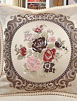 Недорогие -1 штук Бархат Наволочка, Цветочный принт Традиционный / классический