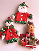 baratos -Sacos e Transportadores de Vinho / Natal Férias Não-Tecelado Rectângular Festa / Novidades Decoração de Natal