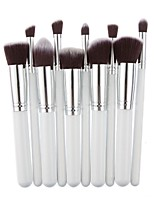 cheap -10-Pack Makeup Brushes Professional Make Up / Eyeshadow Brush Fiber Professional Wooden / Bamboo