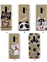 cheap -Case For Samsung Galaxy J6 / J4 Ultra-thin / Transparent / Pattern Back Cover Animal Soft TPU for J8 / J7 (2017) / J6