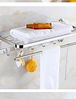 preiswerte -Badezimmer Regal Neues Design Moderne Edelstahl / Eisen 1pc Wandmontage
