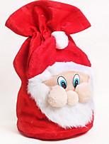 abordables -Sacs à cadeau Noël Polyester Nouveautés Décoration de Noël