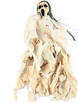 Недорогие -Праздничные украшения Украшения для Хэллоуина Хэллоуин Развлекательный Декоративная / Cool Белый / Небесно-голубой / Красный 1шт