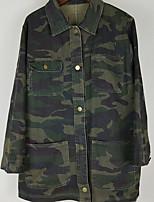 Недорогие -Жен. Куртка Классический - камуфляж