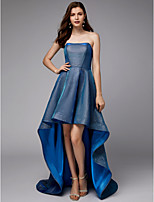 cheap -A-Line Strapless Asymmetrical Sequined High Low Cocktail Party Dress with Draping by TS Couture®