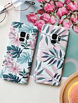 abordables -Coque Pour Samsung Galaxy S9 Plus / S8 Plus Motif Coque Plantes Dur PC pour S9 / S9 Plus / S8 Plus