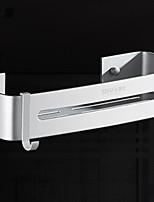 baratos -Prateleira de Banheiro Novo Design / Multifunções Moderna Alumínio 1pç Montagem de Parede