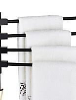 cheap -Towel Bar New Design / Multifunction Modern Aluminum 1pc 4-towel bar Wall Mounted