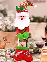 Недорогие -Орнаменты / Рождественский декор Новогодняя тематика Ткань Оригинальные Рождественские украшения