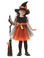 Недорогие -Дети / Дети (1-4 лет) Девочки Пэчворк С короткими рукавами Платье
