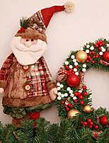 Недорогие -Рождественский декор Новогодняя тематика Ткань Оригинальные Рождественские украшения